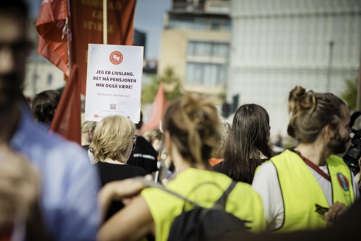 STREIK: I dag er 556 kulturansatte i streik.
