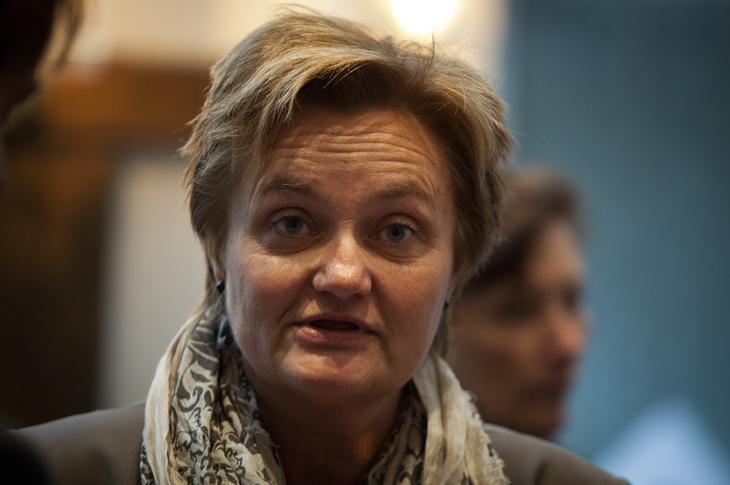 Statsråd Rigmor Aasrud. Foto: Ole Palmstrøm