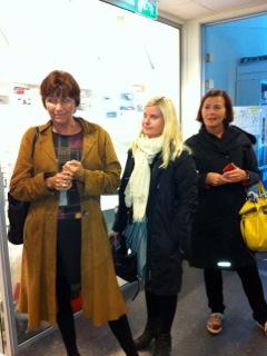Gerd Kristiansen LO, Anna Ljunggren AP og Rita Lekang LO på UiN avd. Mørkvedbukta