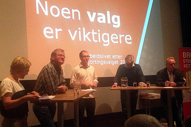 NTL-konferansen i Trondheim. Foto: Iver Johnsen, NTL