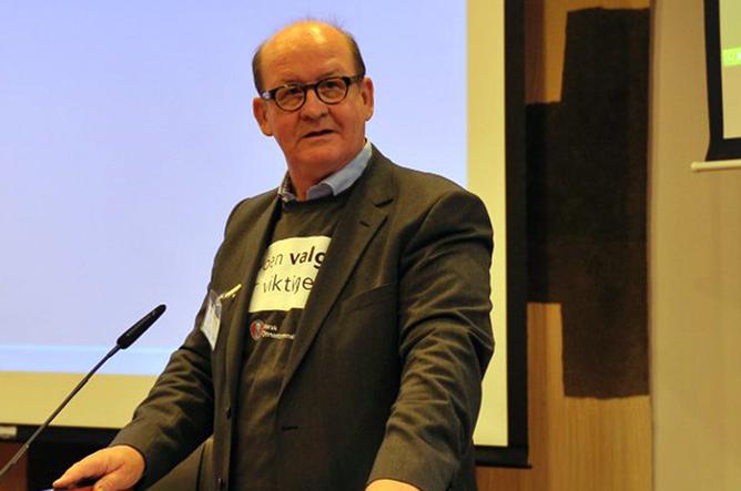 NTL-leder John  Leirvaag. Foto: Anders Hauge-Eltvik