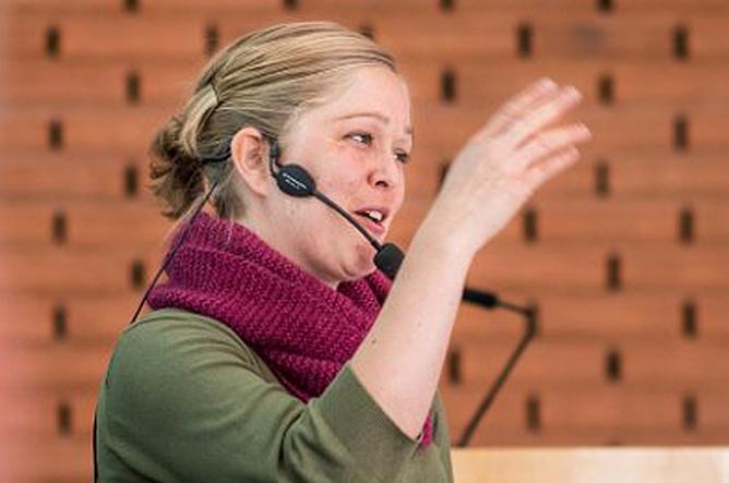 Linn Herning, rådgiver i For Velferdsstaten. Foto:  Kristian Brustad