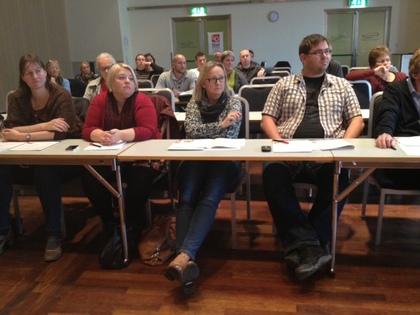 Konferanse i Folkets hus, 16.10.2013