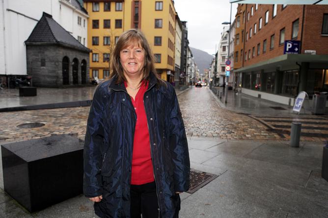 LO Stat-sekretær Lise Olsen. Foto: Morten Hansen