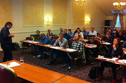 Tariffkonferansen i Bodø. Foto: Mona Fagerheim.