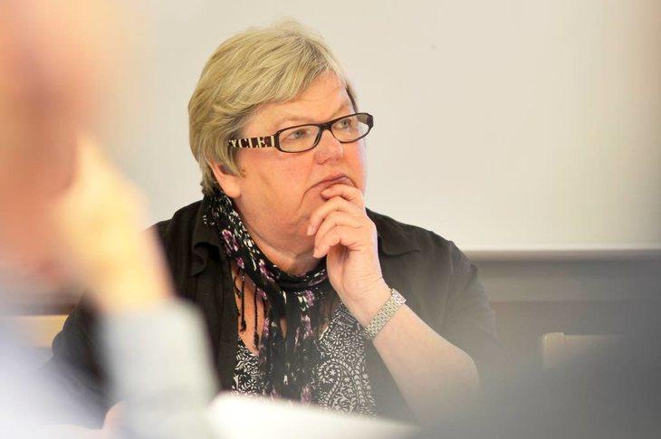 LO Stats leder, Tone Rønoldtangen Foto: Kristian Brustad