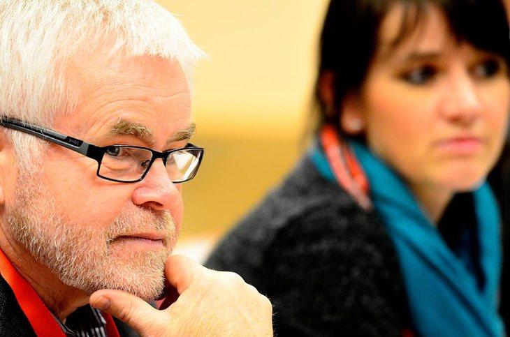 FORTSATT FOR FRONTFAGSMODELLEN: Prosjektdirektør Lars Haukaas i Spekter Foto: Erlend Dalhaug Daae