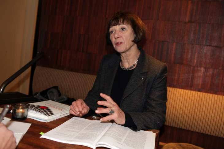 Professor og prorektor ved Universitetet i Oslo, Ruth Vatvedt Fjeld Foto: Morten Hansen