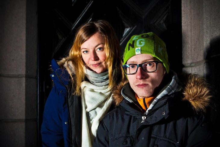 Eddie Ingebrigtsen og Tonje Pettersen. Foto: Ole Palmstrøm