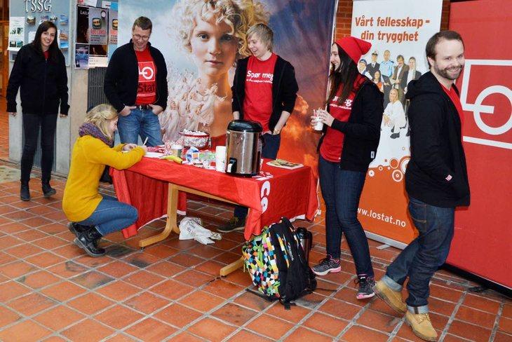 Synlighet og sjarm ga utslag på Dragvoll. Foto: Nina Hanssen