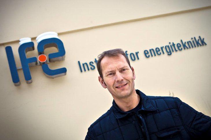 Leder Pål Kjærstad i NTL Forskningsintitutter. Foto. Ole Palmstrøm