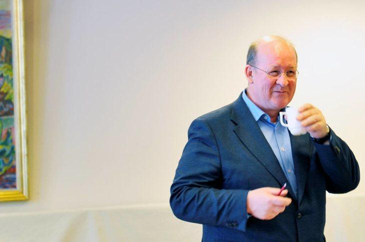 NTL skal stikke kjepper i hjulene for fagforeningsfiendtlig politikk, lover forbundsleder John Leirvaag Foto: Anders Hauge-Eltvik