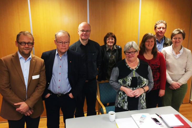 Nordisk formannsmøte for statstjenestemennskartellene. Foto: Stein Erik Syrstad