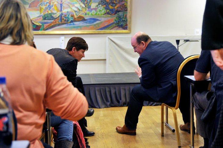 LO-leder Gerd Kristiansen og NTL-leder John Leirvaag skal snart fastsette kravene til årets hovedtariffoppgjør. Foto: Anders Hauge-Eltvik