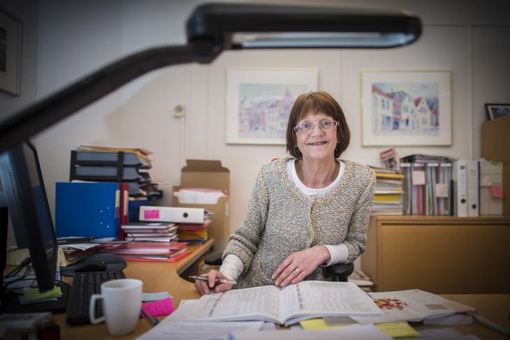 EN GOD AVTALE: LO Stats Randi Stensaker omfavner Hovedtariffavtalen i staten. Hun avviser kontant Akademikernes ønske om endringer. Foto: Kristian Brustad