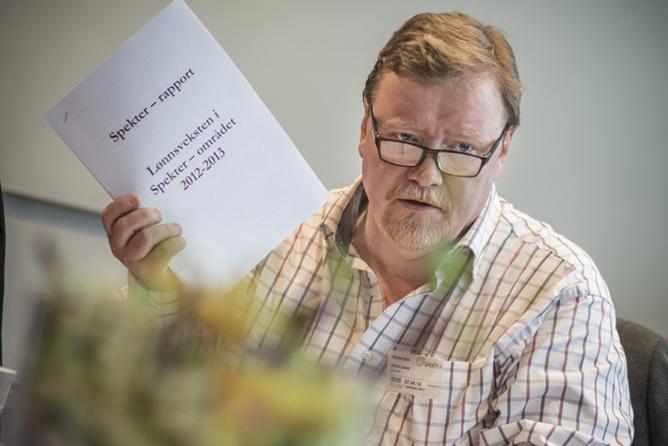 Eivind Gran, forhandlingsleder i LO Stat