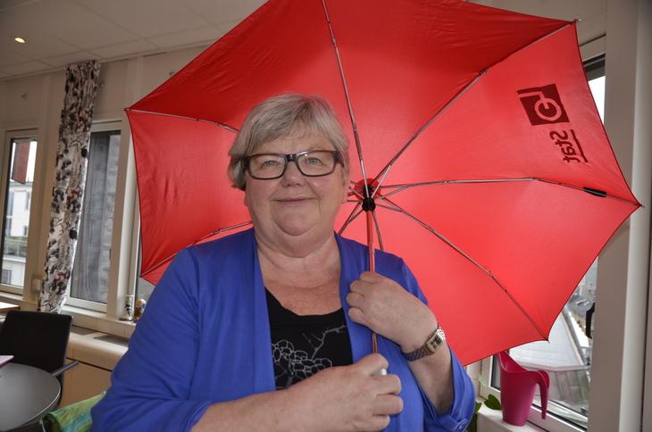LO Stats leder, Tone Rønoldtangen. Foto: Nina Hanssen