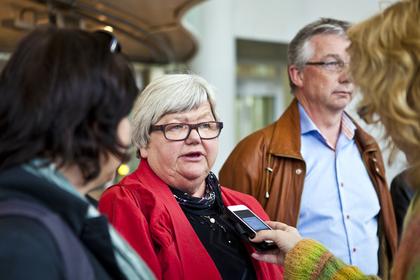 Tariffoppgjøret i staten innledes 12. april. Da venter travle uker for LO Stats leder, Tone Rønoldtangenn. Foto: Morten Hansen