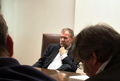 Riksmekleren møter LO Stats delegasjon