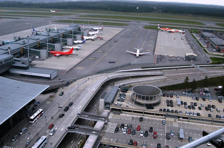 Avinor, Oslo lufthavn Gardermoen. Foto: Nina Hanssen