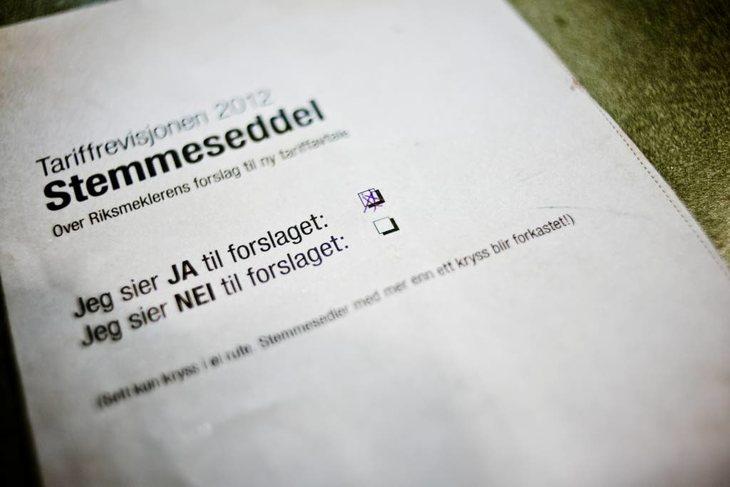 I 2012 var det nesten 41.000 stemmeberettigede. Av disse deltok 35,8 prosent. Foto: Erlend Angelo