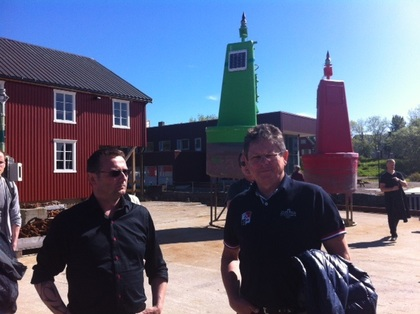 Informativt og trivelig arbeidsplassbesøk hos Kystverket i Kabelvåg