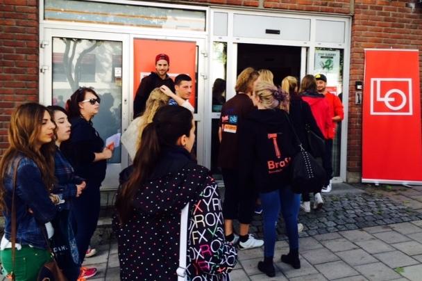 Studentverving på Hamar