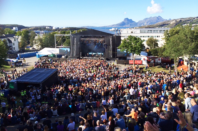 Parkenfestivalen i Bodø. Foto: Mona Fagerheim