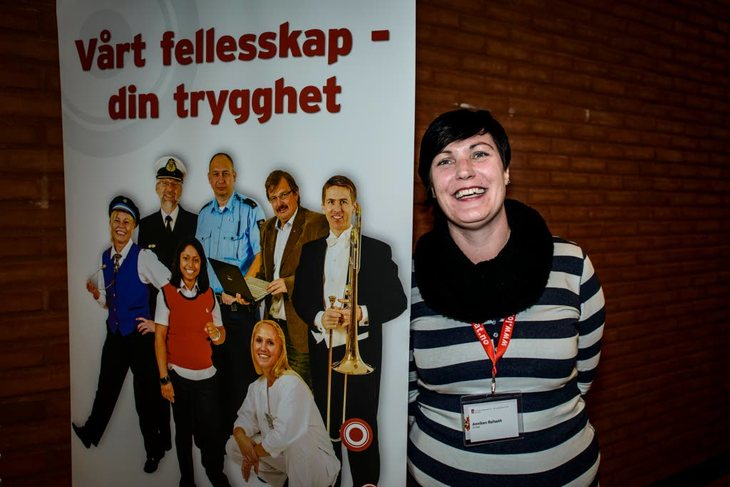 LO Stat sekretær Anniken Refseth. Foto: Kristian Brustad