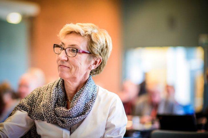 Peggy Følsvik (LO). Foto: Kristian Brustad