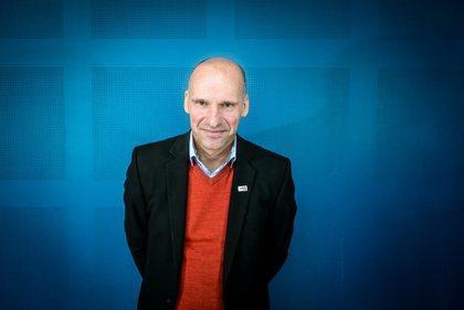 Geir Lippestad innledet om sikkerhetsrisikoen ved radikalisering. Foto: Kristian Brustad