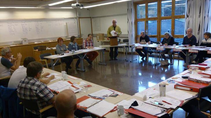 Organisasjonskurs på Sørmarka  oktober 2014. Foto Odd Helge Henriksen