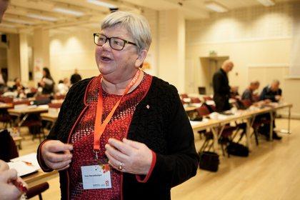 LO Stats leder Tone Rønoldtangen Foto: Morten Hansen