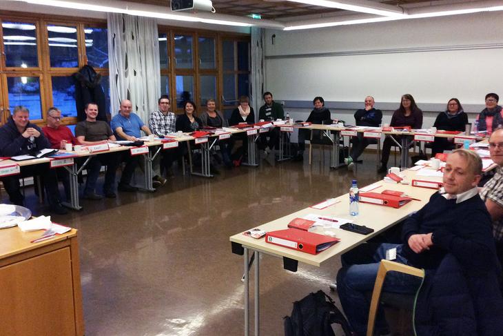 Kurs i personalpolitikk på Sørmarka, januar 2015