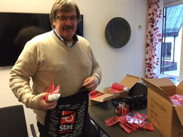LO Stat-sekretær Dag Westhrin er klar for streik