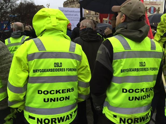 Fra markeringen i Oslo