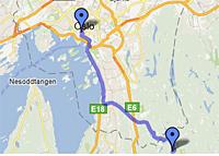 Sørmarka på kartet