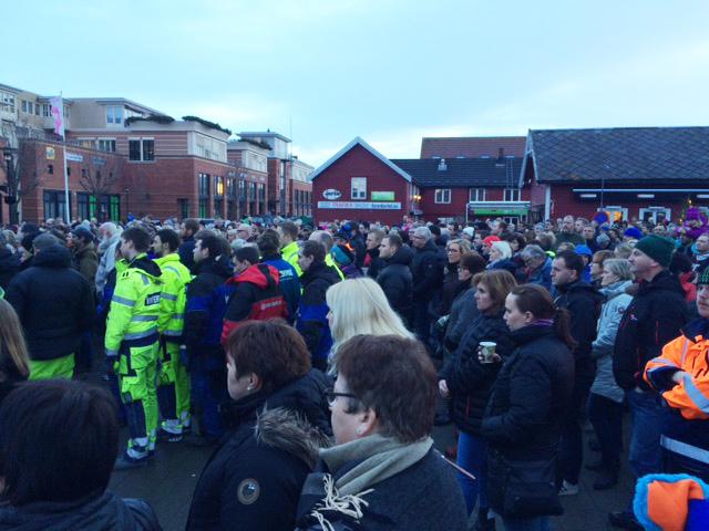 Markering i Stjørdal