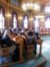 Førstekonsulent Jørn Nygren foreleser om Stortingets historie