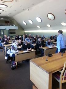 Dag Terje Andersen foreleste om den Norske modellen