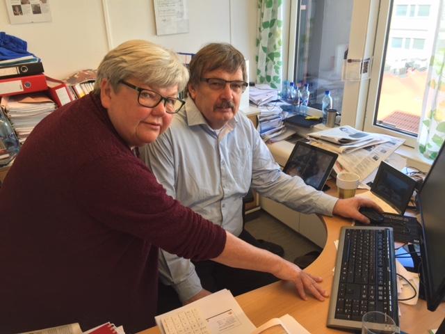 Tone Rønoldtangen og Dag Westhrin