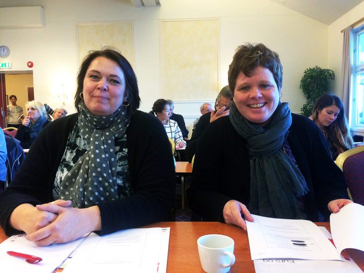 Tanya Sjøberg og Karen Kjørun