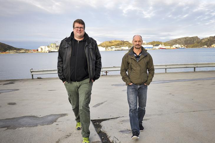 TARIFFKAMP: Leder Magnus Røkke (t.v.) i NTL universitetet i Nordland og leder Glenn Reinholtsen i lønnsutvalget til NTL Skatt Nord forventer et tøft oppgjør i staten neste år.
