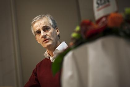 Arbeiderpartiets leder, Jonas Gahr Støre på Kartellkonferansen.