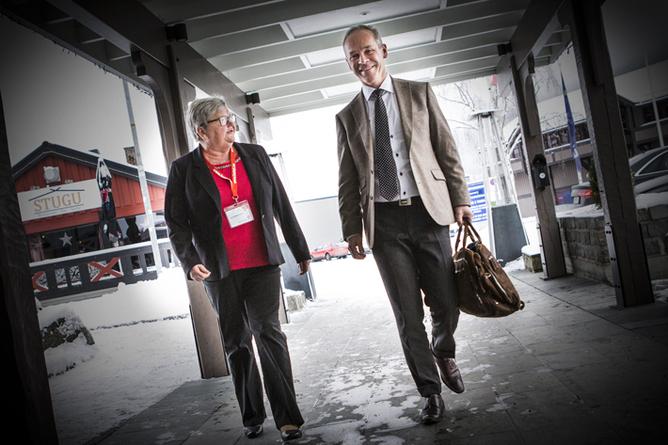 Tone Rønoldtangen og Jan Tore Sanner, Kartellkonferansen 2015